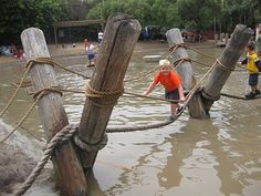 """Ty loved the Adventure playground and said, """"I would come back here 80 times!"""" - Adventure Playground - Huntington Beach, Central Park, New York"""