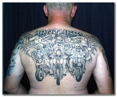 biker group tattoo