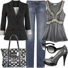 Grey Casual   http://www.polyvore.com/untitled/set?id=12123854