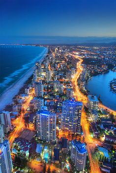 Surfers Paradise is a suburb within the local government area of Gold Coast City in Queensland, Australia Gold Coast Queensland, Gold Coast Australia, Queensland Australia, South Australia, Dream Vacations, Vacation Spots, Romantic Vacations, Italy Vacation, Romantic Travel