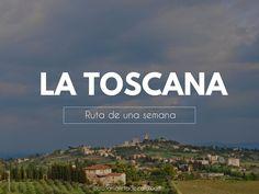Hace unos días os hablaba de Florencia, una de mis ciudades favoritas en Italia. Hoy comparto con vosotros la ruta que hice yo por la Toscana, una ruta de aproximadamente una semana en la que Rv Travel, Travel List, Travel Packing, Italy Travel, Jacuzzi, Toscana Italia, Best Of Italy, Wonderful Places, Viajes