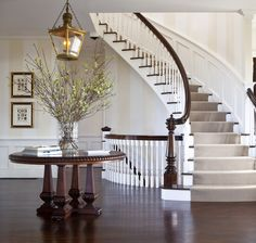 Nantucket Cliffs - traditional - staircase - other metro - by Jeannie Balsam LLC