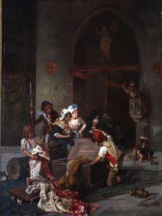 Pillage d'une église pendant la Révolution française en 1793