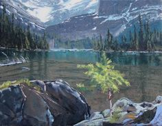 Todd Lachance; Lake O'Hara, 11 x 14