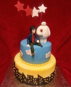 Top 10 Big Hero 6 Birthday Cakes