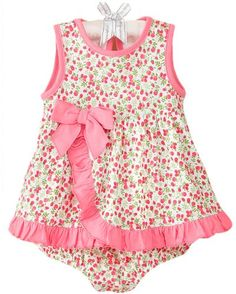 First Boutique® Baby Sunsuit, Baby Girls Sun « Dress Adds Everyday