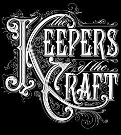 Keepers of the Craft on Behance