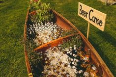 25 Reasons to Love an Outdoor Fall Wedding The brisk temperature mean you can have a beer canoe without worrying about anything getting warm. The post 25 Reasons to Love an Outdoor Fall Wedding appeared first on Outdoor Ideas. Perfect Wedding, Diy Wedding, Dream Wedding, Wedding Day, Spring Wedding, Canoe Wedding, Wedding Gowns, Destination Wedding, Elegant Wedding