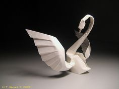 The Dance    Designed and folded by me, H.T.Quyet  March 2009