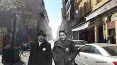 Utca, Budapest Hungary, Then And Now, Street, Walkway
