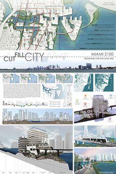 Cut Fill City Miami 2100, Designing for Sea Level Rise