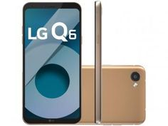 """Smartphone LG Q6 32GB Rose Gold Dual Chip 4G - Câm. 13MP + Selfie 5MP Tela 5,5"""" Proc.Octa Core"""