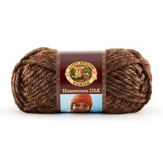 Lion Brand Hometown USA Prints Yarn in Autumn