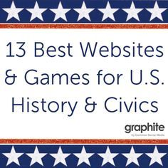 In celebration of President's Day, we want to highlight the best websites and games for U.S. History and Civics. Sometimes, the history that students learn about in textbooks is boiled down to key events and dates. These great websites and games let them explore tricky topics from different...