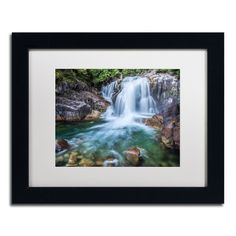 'Golden Ears Falls' by Pierre Leclerc Framed Photographic Print