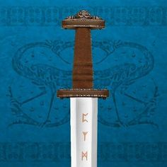 During the so-called Dark Ages, there were many advances in metallurgy and better swords, like this one, were produced. Based on a Century design, this slashing sword was a favourite. This migration period sword will be amazing gift for valentines day. Viking Shield, Viking Sword, Viking Age, Dragon Sword, Unique Gifts For Him, Japanese Sword, Samurai Swords, Valentines Day Gifts For Him, High Carbon Steel