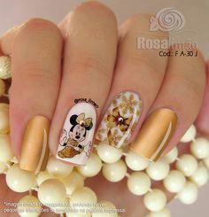 Pale Pink Nails, Lavender Nails, Gray Nails, Mickey Mouse Nail Art, Mickey Mouse Nails, Cute Nail Polish, Cute Nails, Grey Nail Designs, Fall Nail Art