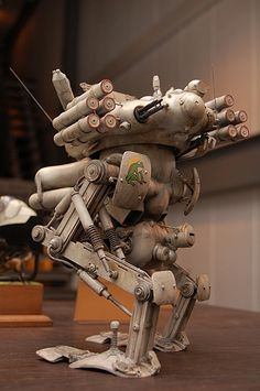 Konigs Krote (Maschinen Krieger ZbV3000) by Jpl3k - Jipple28, via Flickr