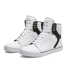 SUPRA SKYTOP | WHITE / BLACK - WHITE | Official SUPRA Footwear Site
