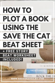 How to Outline Your Novel with the Save the Cat! Beat Sheet How to Plot a Novel Using the Save the Cat Beat Sheet Creative Writing Tips, Book Writing Tips, Writing Process, Writing Resources, Writing Help, Writing Skills, Writing Courses, Writing Plan, Book Writer