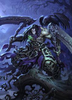 4 Cavaliers De L'apocalypse Darksiders : cavaliers, l'apocalypse, darksiders, Ideas, Horsemen, Apocalypse,, Horsemen,, Horseman