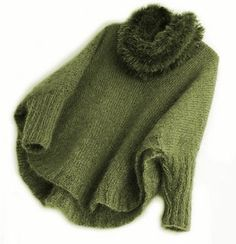 Sigh: Oversized Mohair 'Poncho' Sweater.