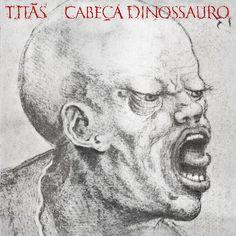 LP TITÃS - CABEÇA DINOSSAURO