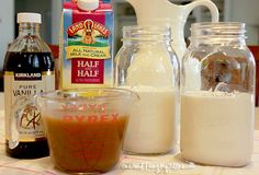 Homemade Caramel Sauce & Caramel Vanilla Creamer | One Good Thing by Jillee