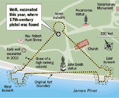 map of jamestown colony » ..:: Edi Maps ::.. | Full HD Maps