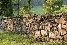Historic Stone Fence in Loudoun County