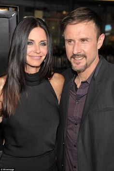Ex; Before that she was married to David Arquette - they are seen here at the premiere of Scream4 in 2011