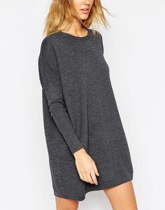 Buy ASOS Jumper Dress In Ripple Stitch at ASOS. With free delivery and return options (Ts&Cs apply), online shopping has never been so easy. Get the latest trends with ASOS now. Fashion Wheel, Oversized Jumper Dress, Pull Long, Asos, Inspiration Mode, Tall Women, Mode Style, Pulls, Korean Fashion