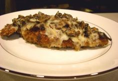 jb's pour house : : porcini chicken with fontina