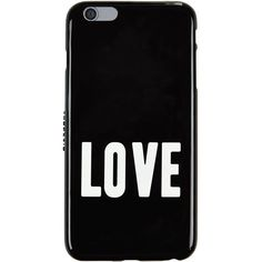 Givenchy iPhone 6 Plus Love Phone Case (1 040 SEK) ❤ liked on Polyvore featuring accessories, tech accessories, phone cases, phones, cases, fillers and givenchy