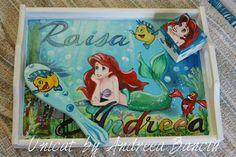 Ariel Ariel, Disney Characters, Fictional Characters, Lunch Box, Disney Princess, Fantasy Characters, Disney Princes, Little Mermaids