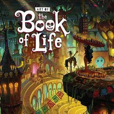 Arte de la película THE BOOK OF LIFE, de Guillermo del Toro