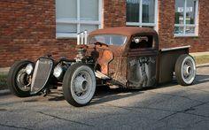 custom rod | 2010 Woodward Cruise: Custom Rat Rod | Flickr - Photo Sharing!