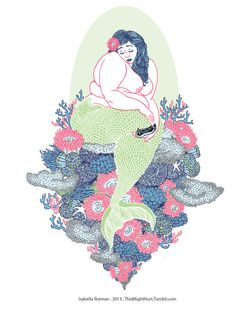 Fat mermaid <3