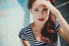 Fashion Makeup Models Photography - I love red lips. :) #advisemystyle