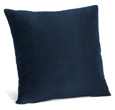 Velvet Pillows - Accent Pillows - Accessories - Room & Board - Velvet, Indigo :: $89