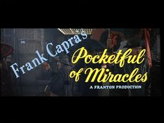 Pocketful of miracles 1961 movie title