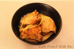 Cook French with Me : Lemon Chicken