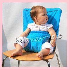 Sack 'n Seat (il seggiolone di stoffa, tascabile!) - Bella Mamma - vendita on line prodotti per bambini, giochi, accessori, negozio compra online