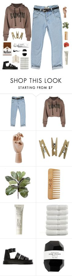 """i got the keys to the universe"" by k-karii ❤ liked on Polyvore featuring Boohoo, HAY, The Body Shop, Le Labo, Dr. Martens, Cassia and fashionbyk"