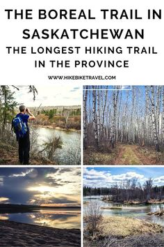 The Boreal Trail hike in Saskatchewan's Meadow Lake Provincial Park - the longest hike in the province - can be done in sections as day trips or one long multi-day trip. Lots of lakes #hiking #Saskatchewan #longhikes #Saskatchewanparks Go Hiking, Hiking Trails, Tourism Saskatchewan, Backpacking, Camping, Hiking Photography, Canadian Travel, Western Canada, Visit Canada