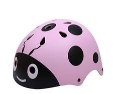 Buy shuangjishan Kids Ladybug Bike Helmet, Multi-Sport for Toddler and Children, Cool Bike Helmets, Kids Helmets, Bicycle Helmet, Brooks Bike, Toddler Bike Helmet, Bike Store, Ladybug, Infant, Craft Ideas