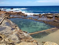 Sea pool in Wollongong Australia.  I used to collect little carbs with my Dad, in this pool :)
