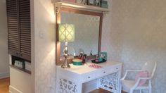 La chambre de la fille de Ricardo Larrivée Home Decor Inspiration, Decoration, Photo Galleries, Vanity, Jeanne, Coin, Design, House, Furniture