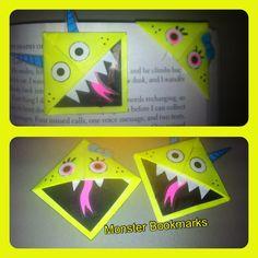 Monster Bookmarks!!