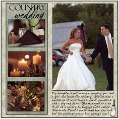 Country Wedding - Scrapbook.com